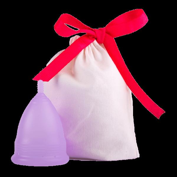 Menstruationstasse lila