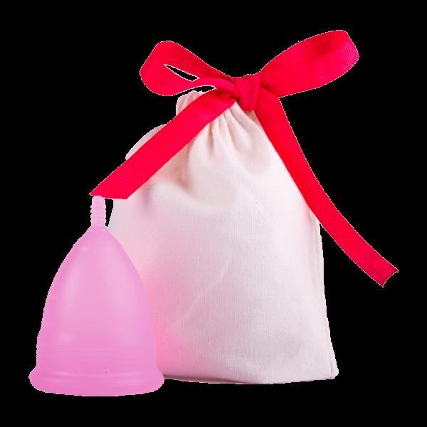 Menstruationstasse pink